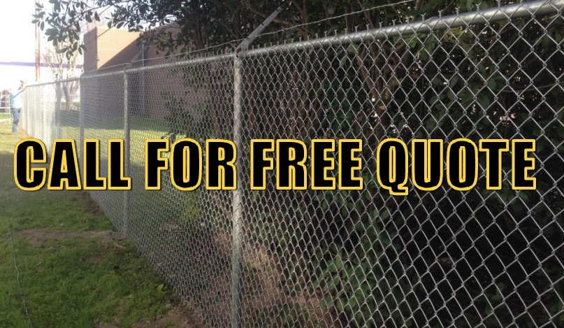 Chain Link Fence Houston Gate Installation Amp Repair