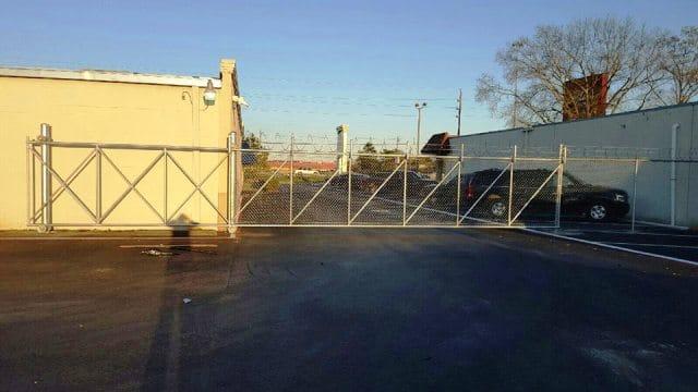 installing rolling gates