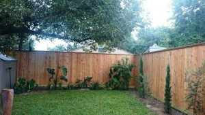 custom wood fencing Houston