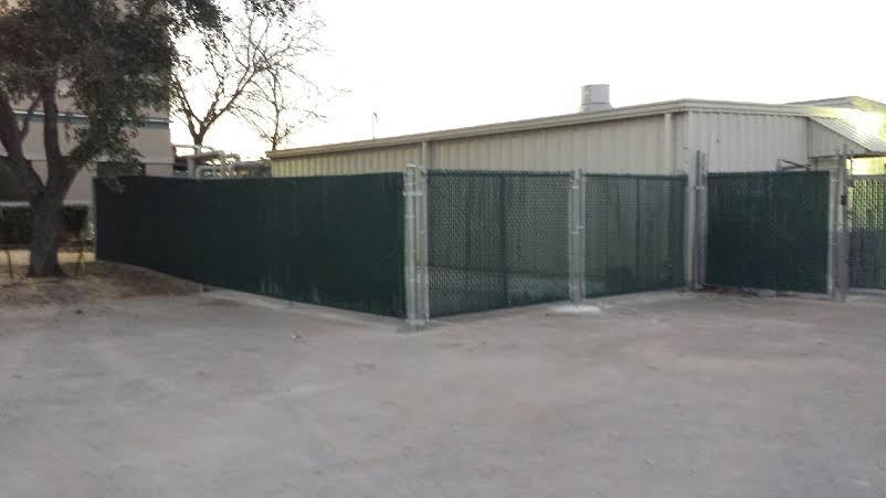 chain link fence privacy options