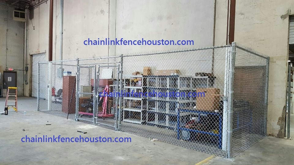 Chain Link Wire Enclosures And Partitions