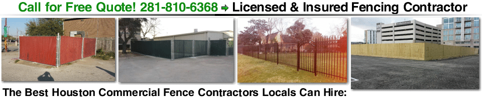 Chain Link Fence Installation Houston
